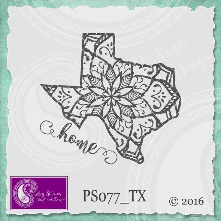 Texas Mandala Svg Texas State SVG Texas SVG Texas State