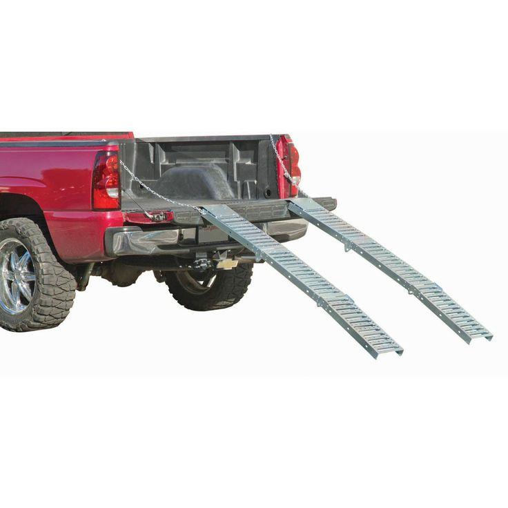Haul-Master 96513 1000 lbs. Tri-Fold Loading Ramps, 1 Pair
