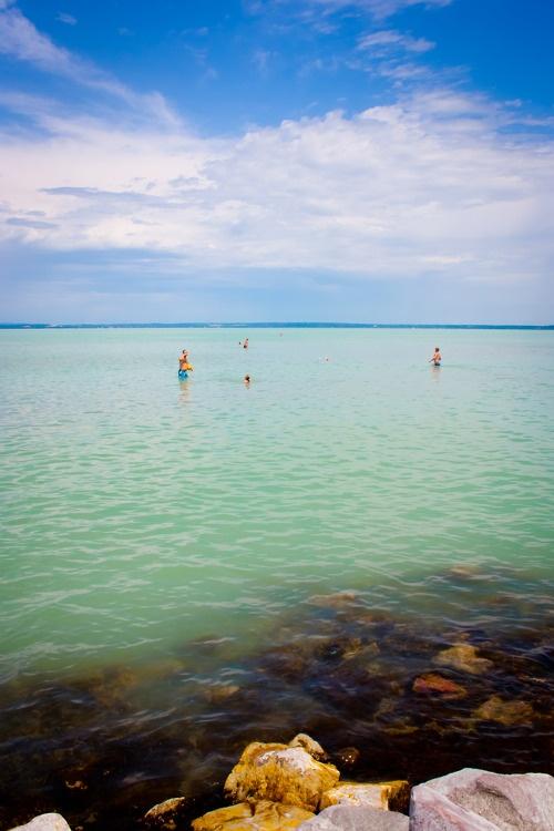 Lake Balaton at Siofok - Hungary Lake-BEACH