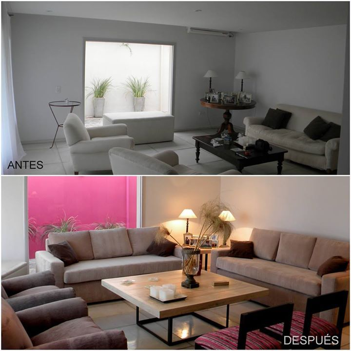 Before and After #design #interiors #homedeco #livingroom #interiordesign