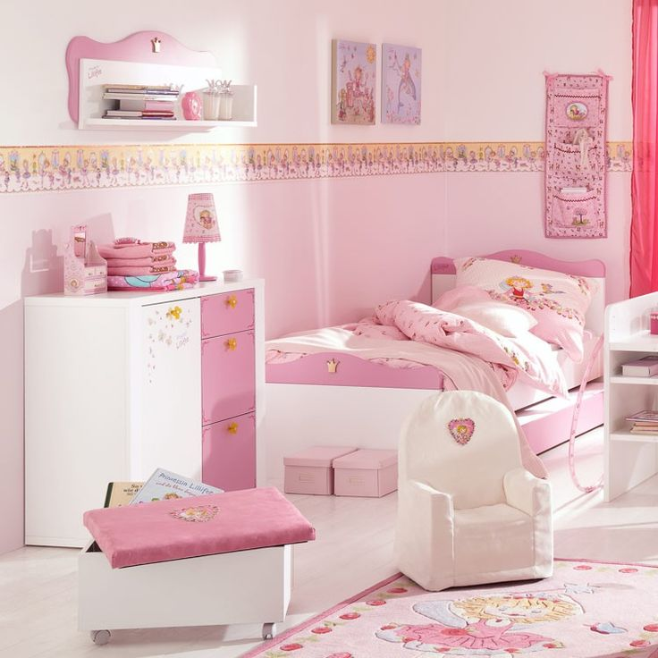 Princess lillifee bedroom pink all over prinzessin for Kinderzimmer prinzessin jugendzimmer