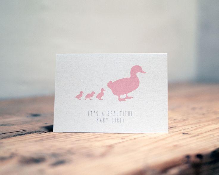 F&R 'It's a beautiful baby girl' in Duck