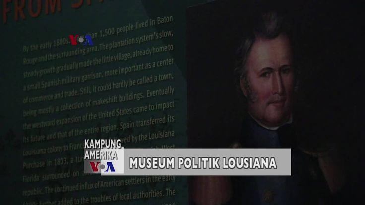 "Cak Supriyono mengajak pemirsa Kampung Amerika mengamati museum sejarah politik di Baton Rouge, Louisiana. Museum ini dikabarkan ""berhantu"". Benarkah? Simak dalam liputan berikut, yang disajikan dalam bahasa Jawa Timur untuk pemirsa ""Pojok Kampung"" JTV, Surabaya. Versi awal dipublikasikan pada - http://www.voaindonesia.com/a/kampung-amerika-museum-sejarah-politik-di-louisiana/3781014.html"
