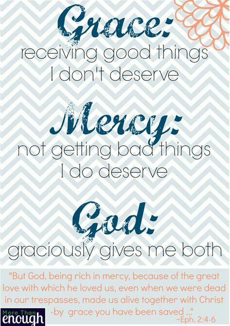 Wow...Grace/Mercy/God