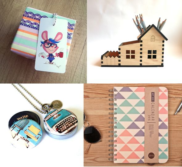 Writers   Bloggers   Journalists Terrapin and Toad: Etsy gift guide and wrapping ideas