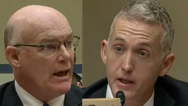 Trey Gowdy not taking Bullsh*T from Secret Service Director!   NOTE THE STYLED HAIR