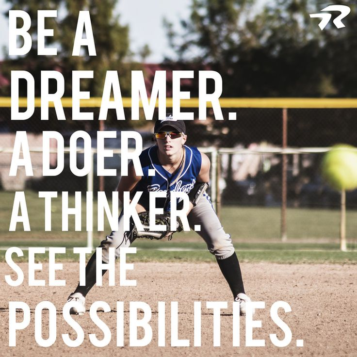 See the possibilities. #softballstrong