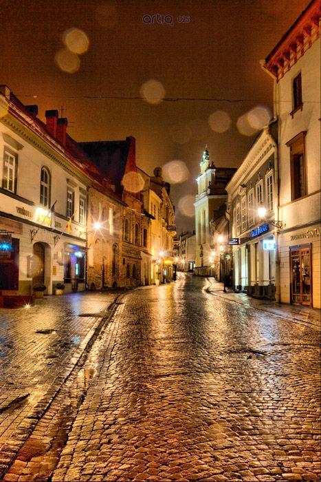 Pilies Gatve, Vilnius, Lithuania. The Presidency of the Council of the European Union, http://www.eu2013.lt/en/