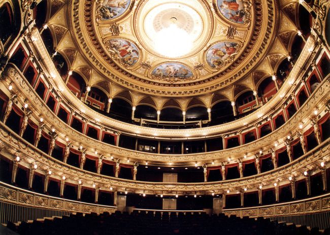 The Mahen Theatre, Brno, Czech Republic, Amazing experience to have sung here! <3