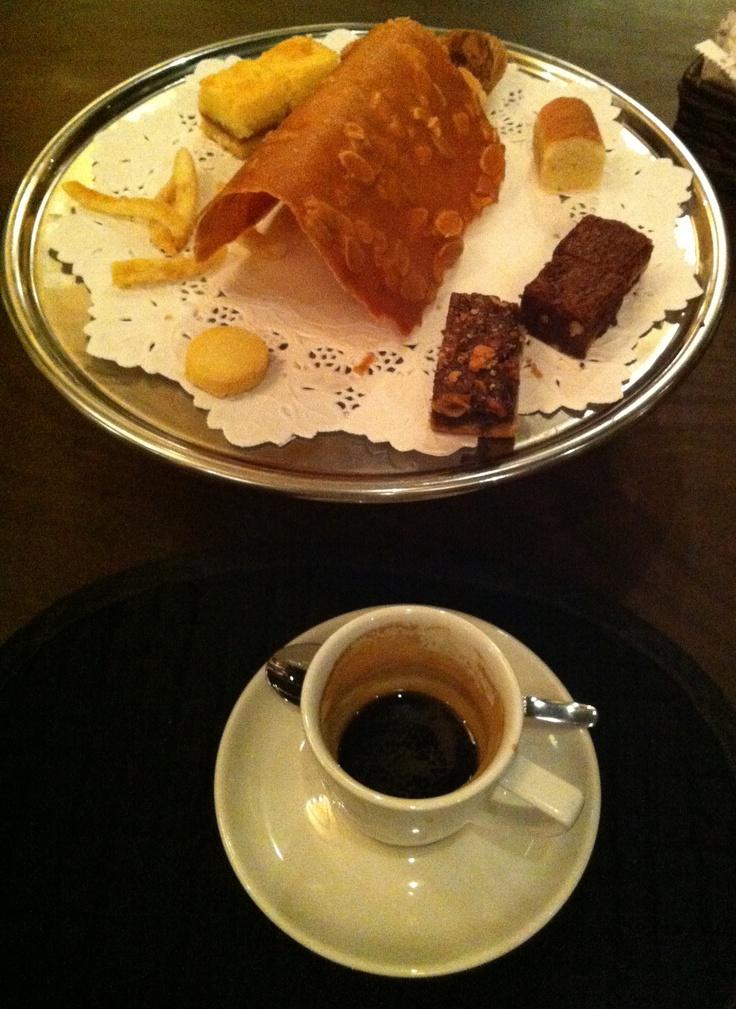 Coffee + Petit Four @ Cabana Las Lilas, Buenos Aires, ARG