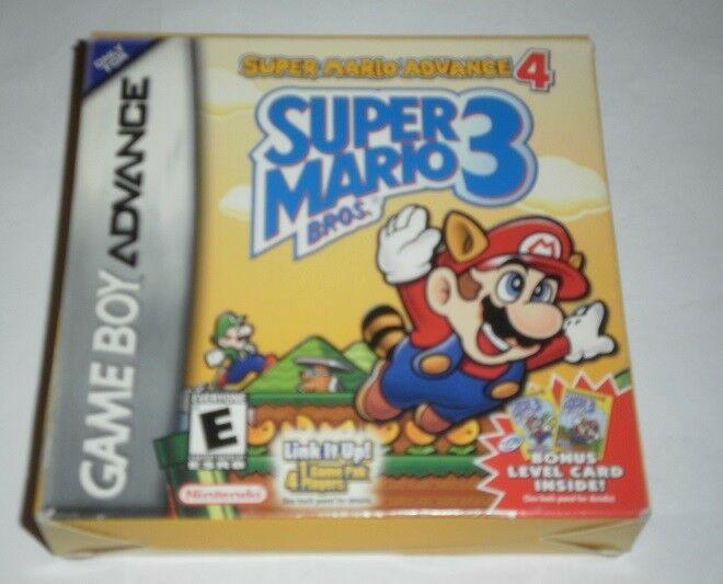 Super Mario Advance 4 Super Mario Bros 3 Game For Nintendo Game