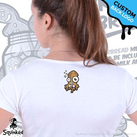 *Squinked custom back logo! *Logo personalizat Squinked pe spate!