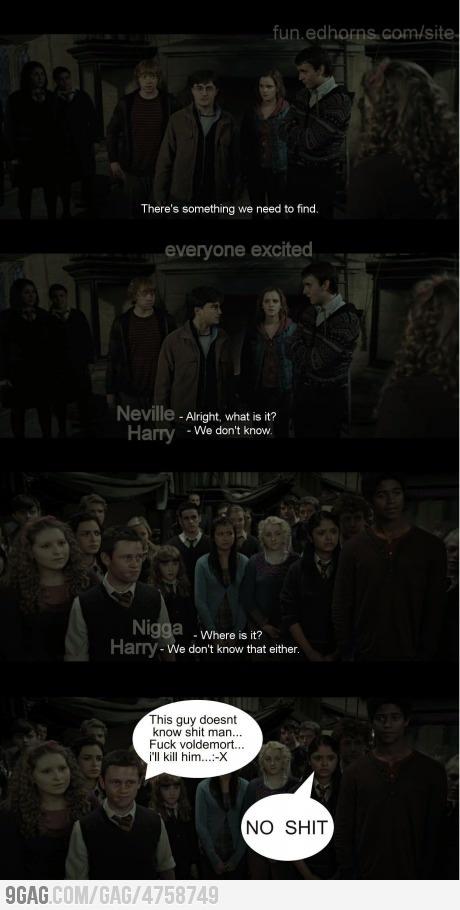 Harry Potter -- W T F !!!