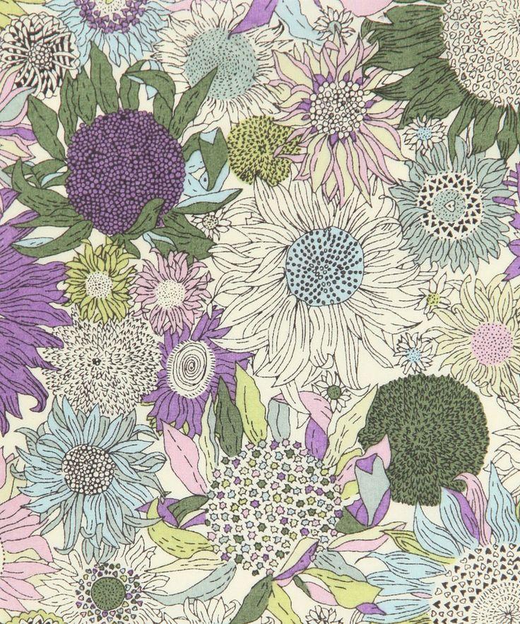Liberty Art Fabrics, Liberty print small Susanna, D, tana lawn from the Liberty Art Fabrics collection
