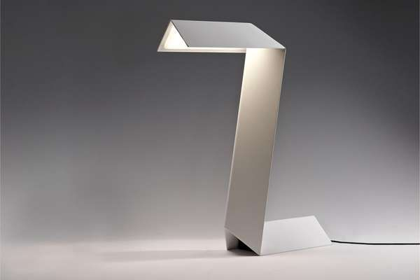 With the Federico Churba Zeta Lamp, You'll No Longer Be In the Dark #paperart trendhunter.com