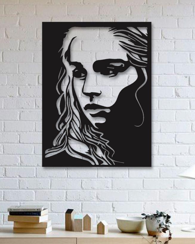 Game Of Thrones - Khaleesi - Metal Tablo