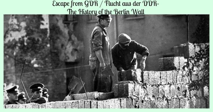 The documentary Escape from GDR / Flucht as der DDR details the history of the Berlin Wall, and many of the escape attempts made before it came down.