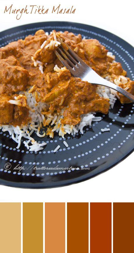 Chicken (Murgh) tikka Masala ovvero pollo indiano in salsa speziata - Trattoria da Martina - cucina tradizionale, regionale ed etnica