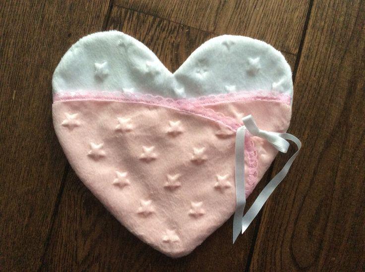 Mooie zachte hartpouche van sterrenstof, voor overleden foetus...