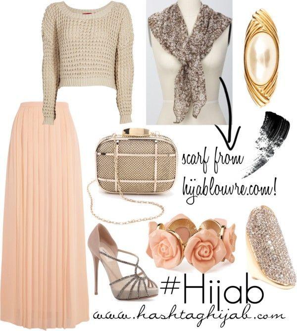 Hijab Fashion 2016/2017: Hashtag Hijab Outfit #59