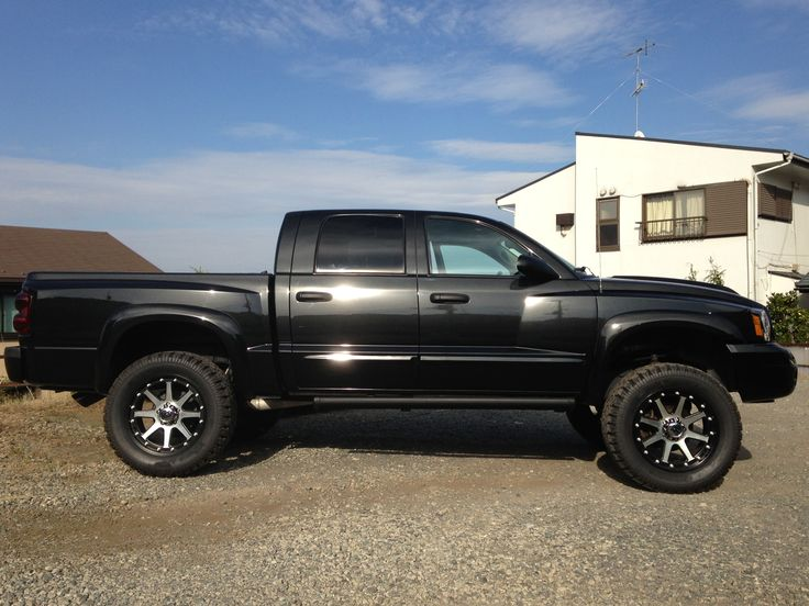 AKIRA 2006 Dodge Dakota-Crew-Cab 6 inch suspension lift