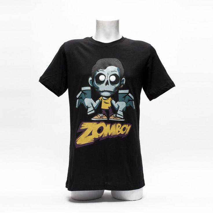 Zomboy shirt black super soft black cotton t shirt for Soft custom t shirts
