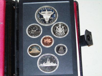 Stamp Pickers RCM 1982 Canada Proof Sterling Silver Dollar Set