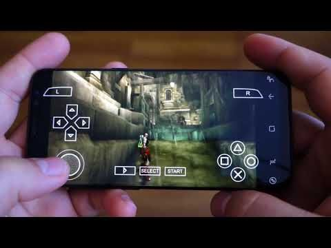 Samsung Galaxy S8 - settings for PSP emulator PPSSPP & Vulkan API - Andrasi.ro