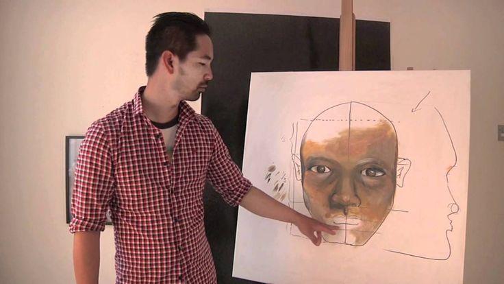 Lær at male et ansigt del 4 - munden - med Martin Quade