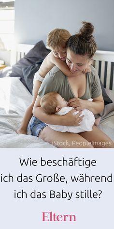 Wie beschäftige ich das Große, wenn ich das Baby stille?