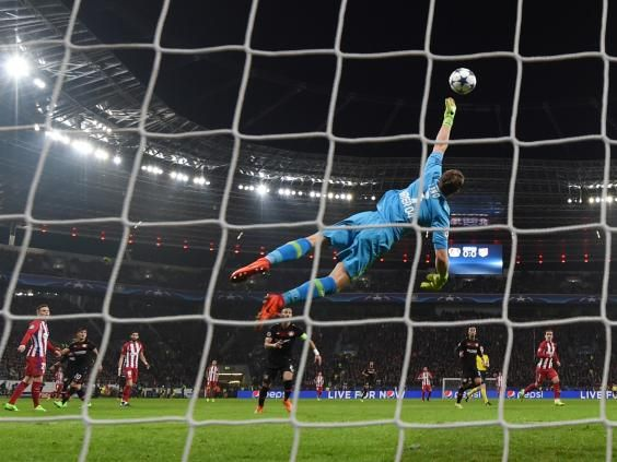 awesome Superb Atletico Madrid score four away goals to take control of Champions League tie against Bayer Leverkusen Check more at https://epeak.info/2017/02/22/superb-atletico-madrid-score-four-away-goals-to-take-control-of-champions-league-tie-against-bayer-leverkusen/