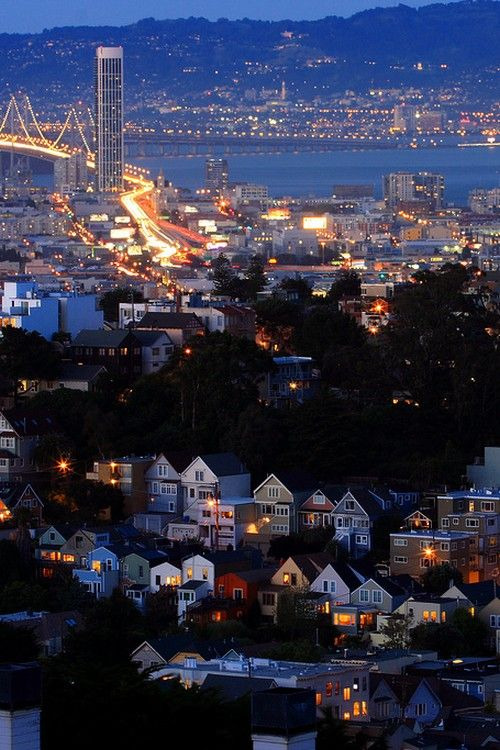 San Francisco at night: San Francisco California, Buckets Lists, Bays Area, Beautiful San, The Bays,  Containership, Beautifulsan Francisco, Travel, Cali States