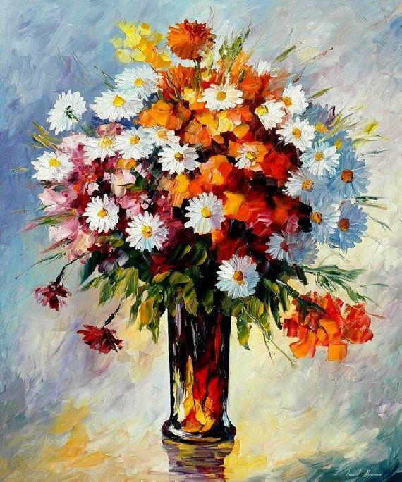 Fondness — PALETTE KNIFE Oil Painting by Leonid Afremov on AfremovArtGallery, $319.00