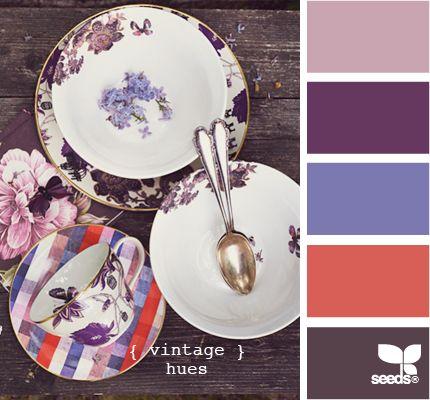 vintage huesColors Pallets, Colors Combos, Beautifulcolor Inspiration, Vintage Seeds, Colors Palettes, Painting Colors, Colours Palettes, Vintage Hues, Colors Inspiration