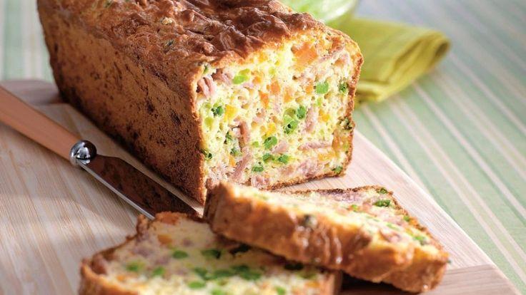 Vaječný chlieb s jarnou zeleninou | Recepty.sk