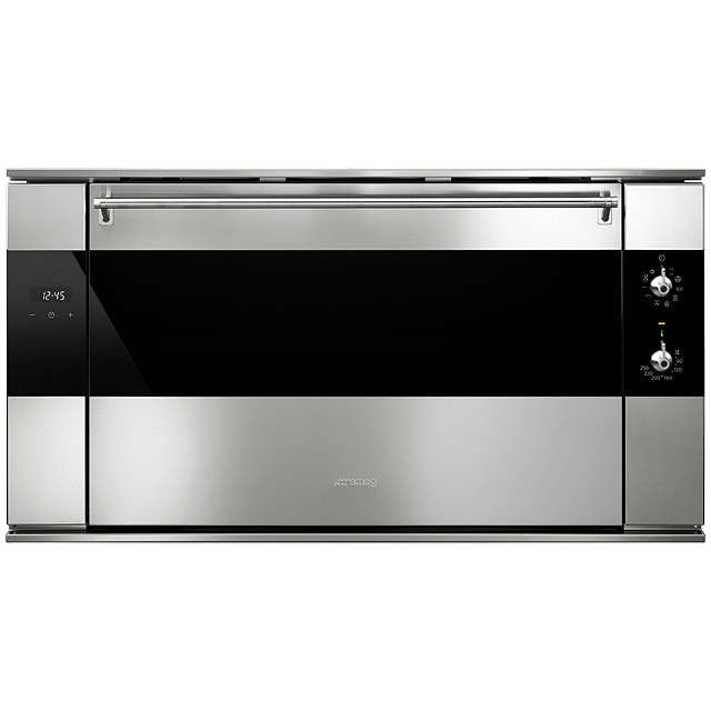 Smeg SF9315XR Classic Built-In Electric Multifunction Single Oven, Stainless Steel at John Lewis
