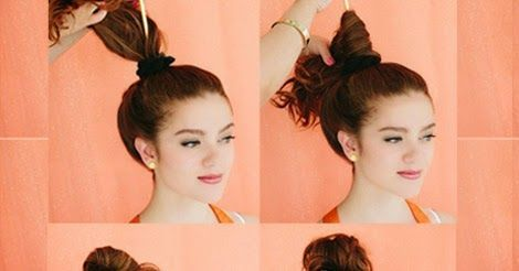 High Messy Bun with Headband – Hairstyle Tutorial ~ Calgary, Edmonton, Toronto, Red Deer, Lethbridge, Canada Directory