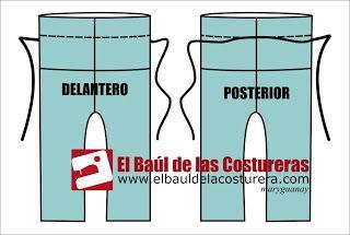EL BAÚL DE LAS COSTURERAS: Pantalón tipo palazzo
