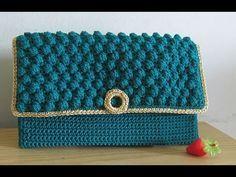 Crochet || Tutorial Merajut Dompet Pesta - Bobble Stitch, My Crafts and DIY Projects