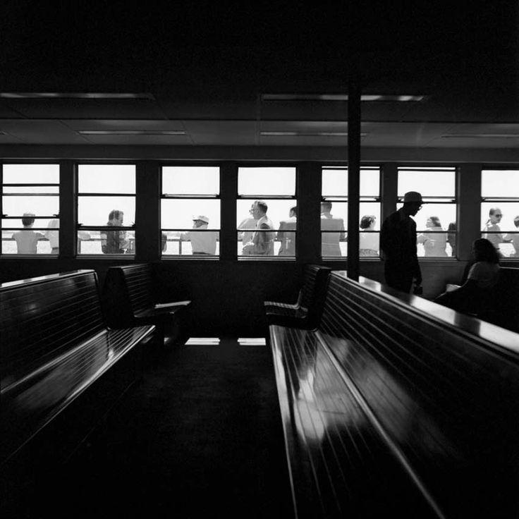 Vivian Meier - Train Seats