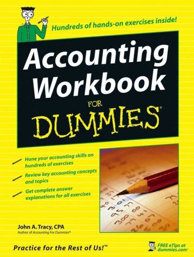 Accounting Workbook for Dummies (For Dummies)