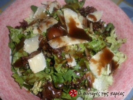 Μια γευστικότατη παραλλαγή της αγαπημένης μας σαλάτας του Καίσαρα που θα σας συναρπάσει.