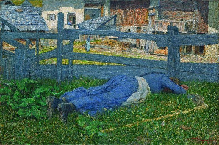 Giovanni Segantini, Riposo all'ombra, 1892