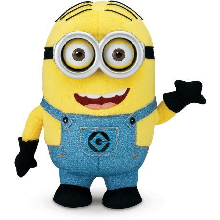 Despicable Me Talking Minion Dave Plush, Assorted
