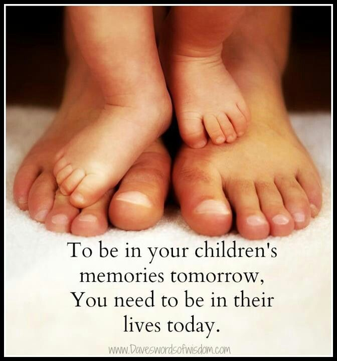 Spend Time With Your Kids....AMEN! They Grow Up So Fast. I