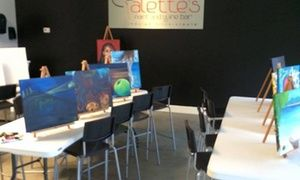 Groupon - $ 16 for $35 Paint Class — Palette's  in Fayetteville. Groupon deal price: $16