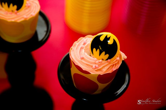 Little girls batman birthday party :)