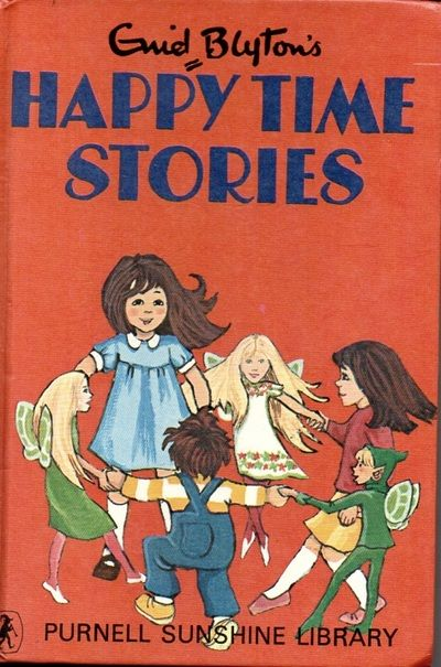 2 x Enid Blyton - Purnell - 1970 - Happytime Stories / Sleepytime Tales  Some
