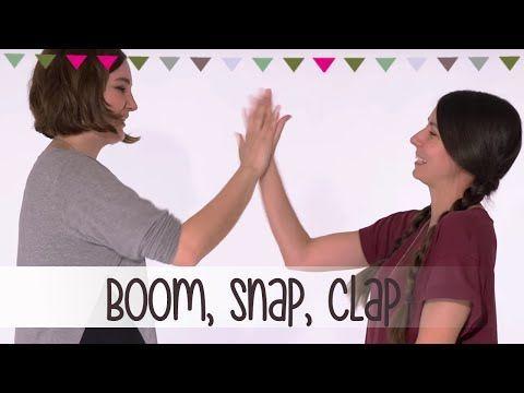 Boom, Snap, Clap | Klatschspiele Anleitung - YouTube