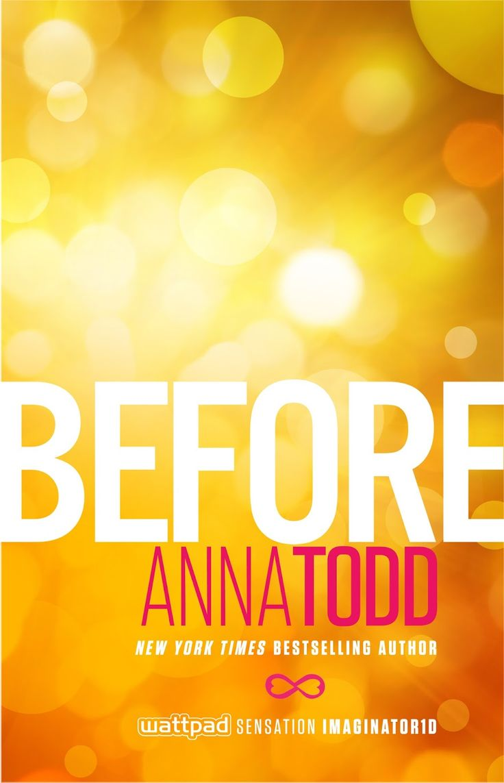 "*El Final de la Historia: ""Before"" de Anna Todd, novela contada desde la perspectiva de Hardin"